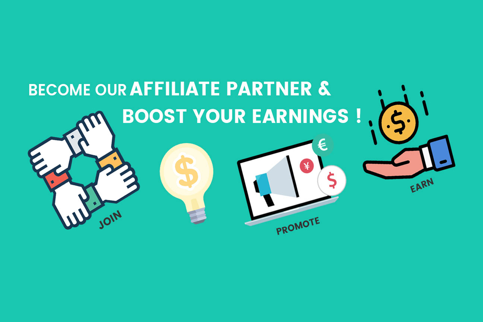 Join our affiliates program